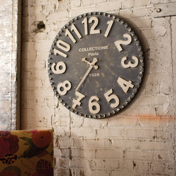 Wooden Wall Clock - Wall Decor - Delirious by Design