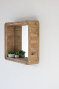 Wooden Shadow Box Mirror - Wall Decor - Delirious by Design