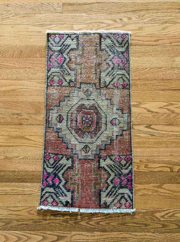 Vintage Turkish Rug - mini 5