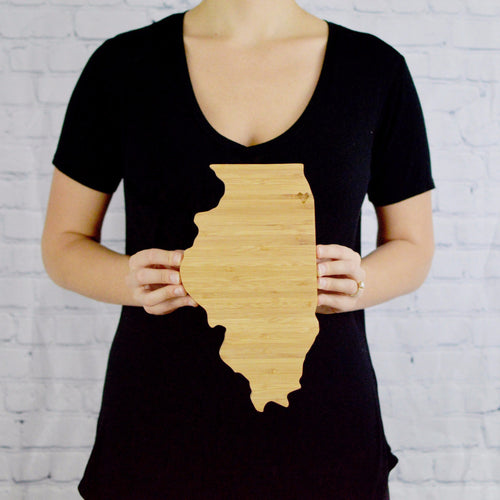 State Shaped - Cutting Board - Delirious by Design