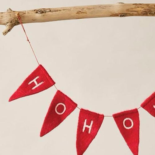 Felt HO-HO-HO Banner-Delirious by Design-Delirious by Design
