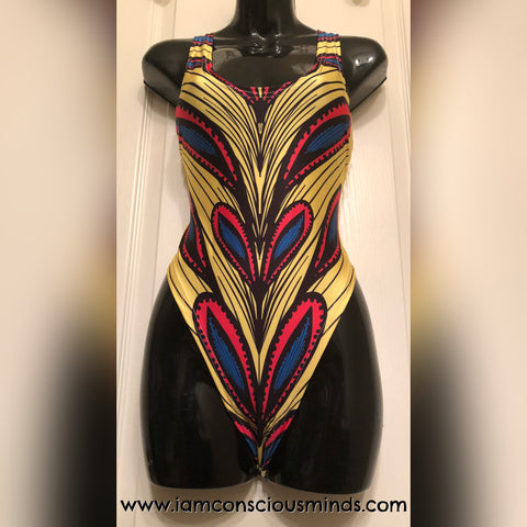 African Inspired Swimsuit
