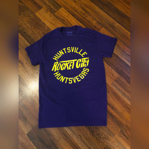 Huntsville (Purple & Yellow)