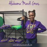 Mardi Gras-Alabama Unisex Long Sleeve