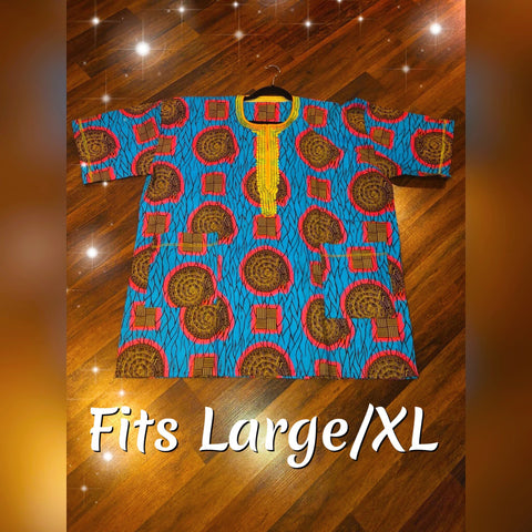 African Dashiki Made in Ghana (Lg/XL)