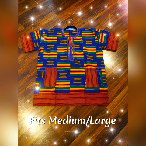African Dashiki Made in Ghana (Med/Lg)
