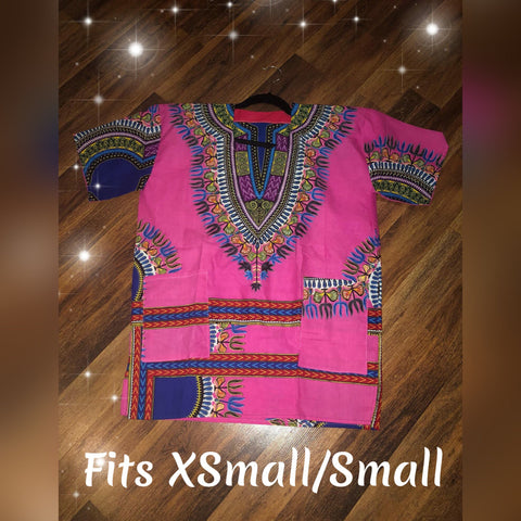 African Dashiki Made in Ghana (XS/SM)
