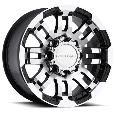 375 Warrior Blk - 22x9.5