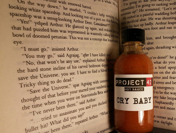 Cry Baby Sauce 2.oz Bottle