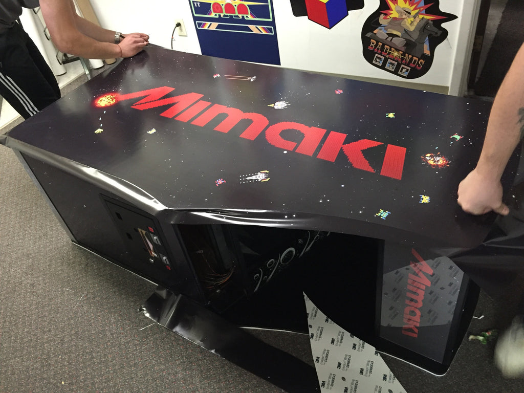 3M & Mimaki Partner with Escape Pod Online Arcade Graphics