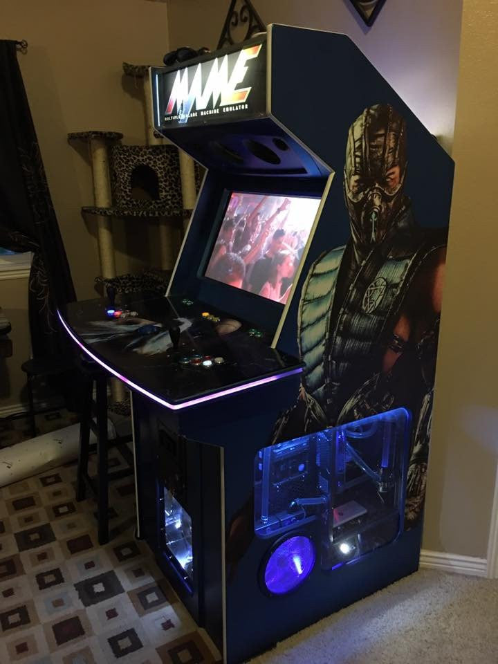 Custom Graphics For Bartop And Full Size Arcade Machines