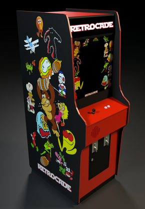 Custom Graphics for Bartop and Full size arcade machines – Escape