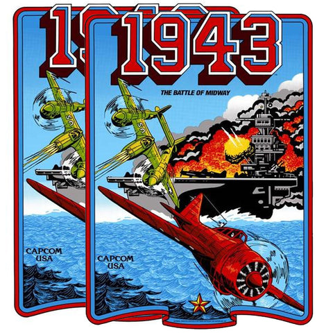 1943 Battle of Midway Side Art Decals