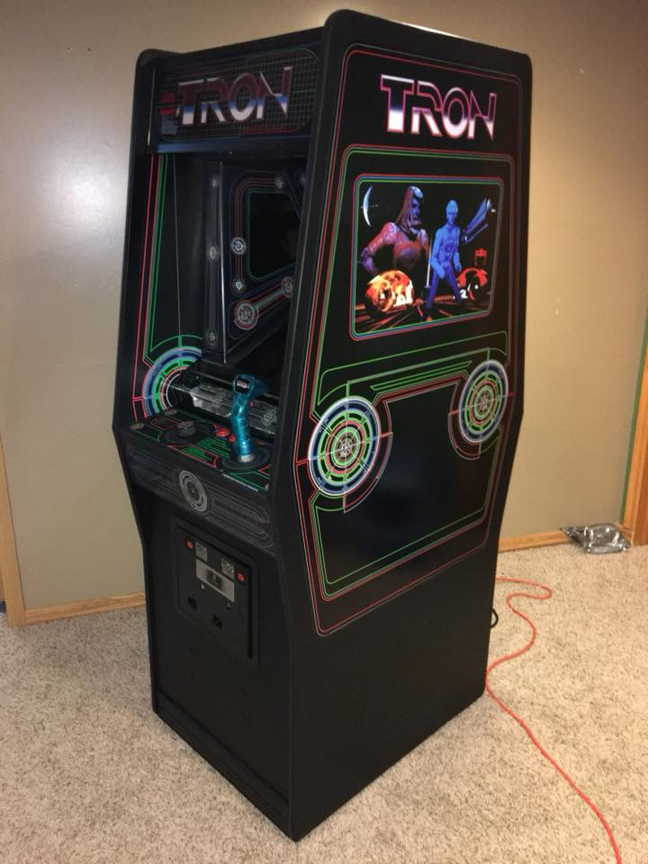 Tron Arcade Side Art Escape Pod Online
