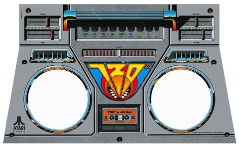 720 Boombox Decal
