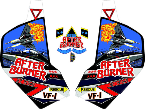 After Burner Side Art Set & Front Throttle Decals