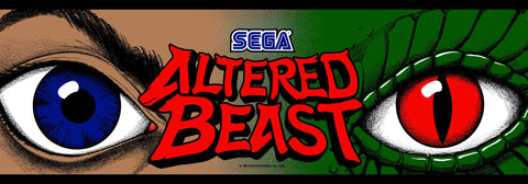 Altered Beast Marquee