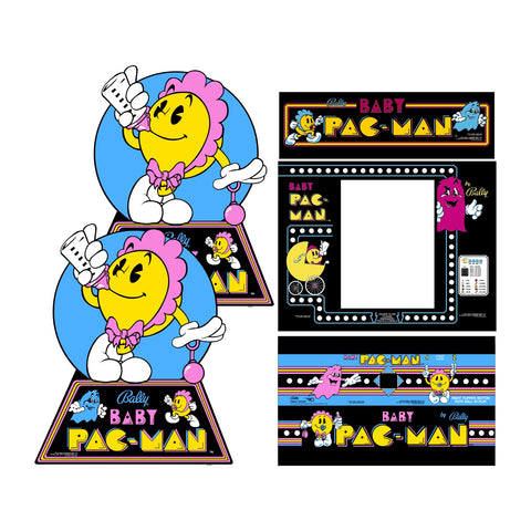 Baby Pac-Man Complete Restoration Kit