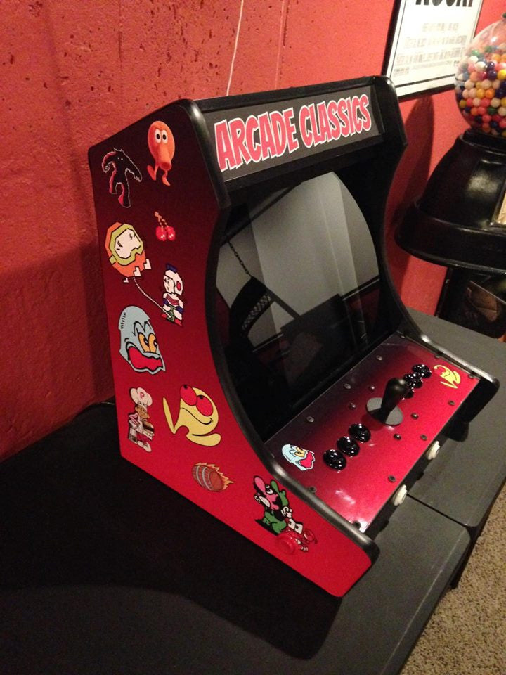 Custom Arcade Bartop Graphics Kit Escape Pod Online