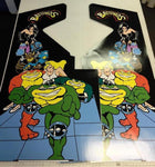 BattleToads Side Art Decals - Battle Toads Arcade