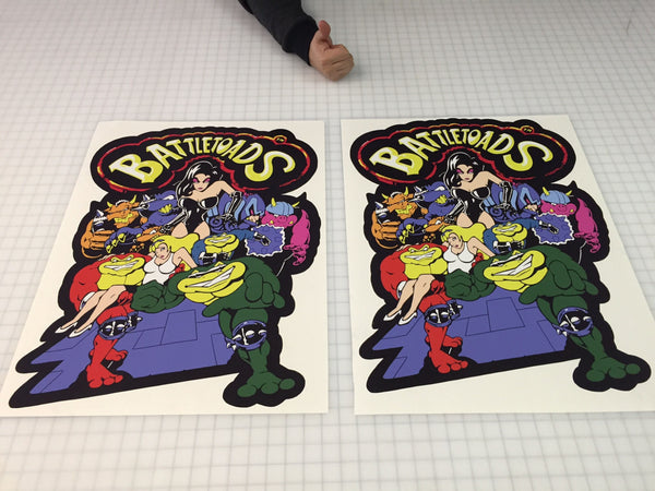 BattleToads Side Art Decals