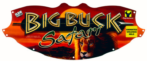 Big Buck Safari Marquee