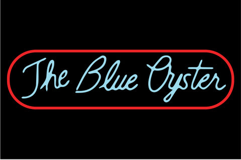 The Blue Oyster Police Academy Sign