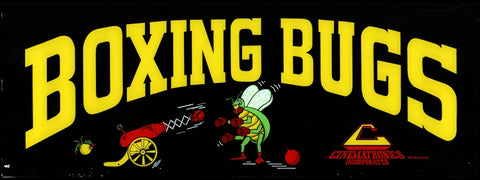 Boxing Bugs Arcade Marquee
