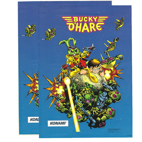 Bucky O'Hare Side Art Decals