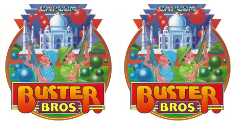 Buster Bros Side Art Decals