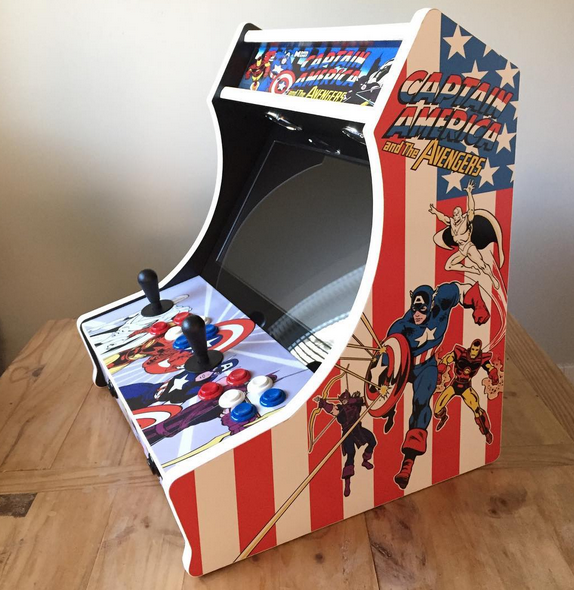 Captain America Bartop Arcade Kit