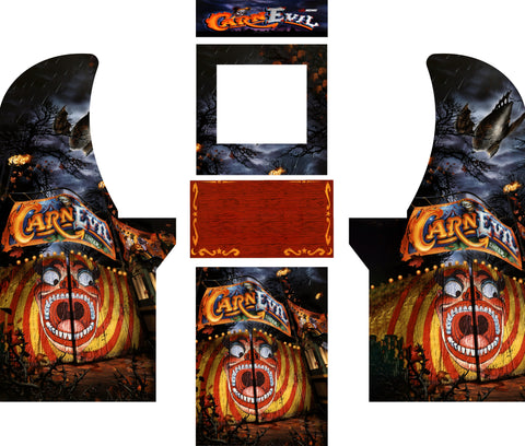 Arcade1Up - CarnEvil Complete Art Kit