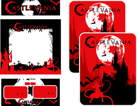 Custom Vs. Castlevania Complete Art Kit