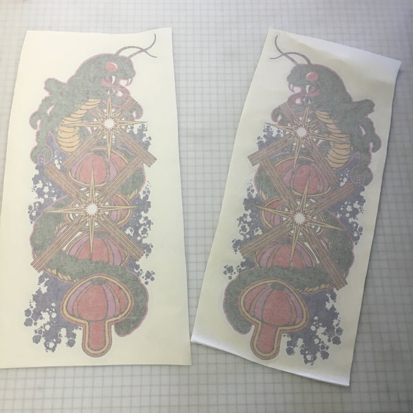 Centipede Side Art Decal Set - Die Cut