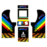 Arcade1Up - Championship Sprint Art Kit