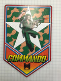 Commando Side Art Decal Set