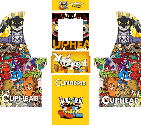 Arcade1UP - Cuphead Complete Art Kit