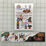 Donkey Kong Jr Arcade Decal Set