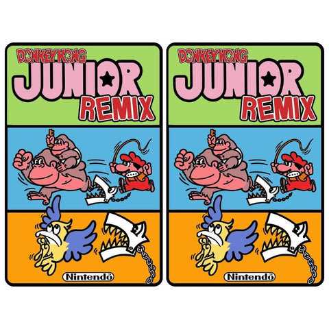 Donkey Kong Jr. Remix Side Art