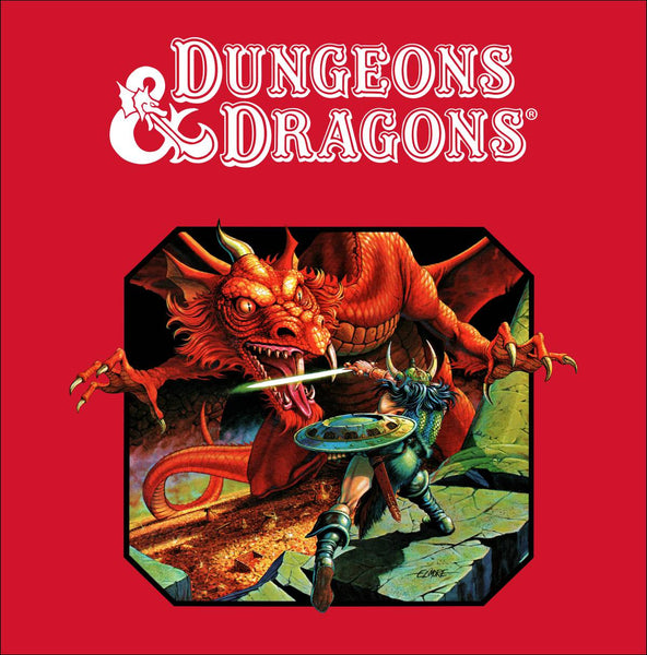 Dungeons & Dragons Side Art D&D Arcade