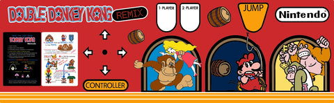 Double Donkey Kong Remix - Control Panel Overlay