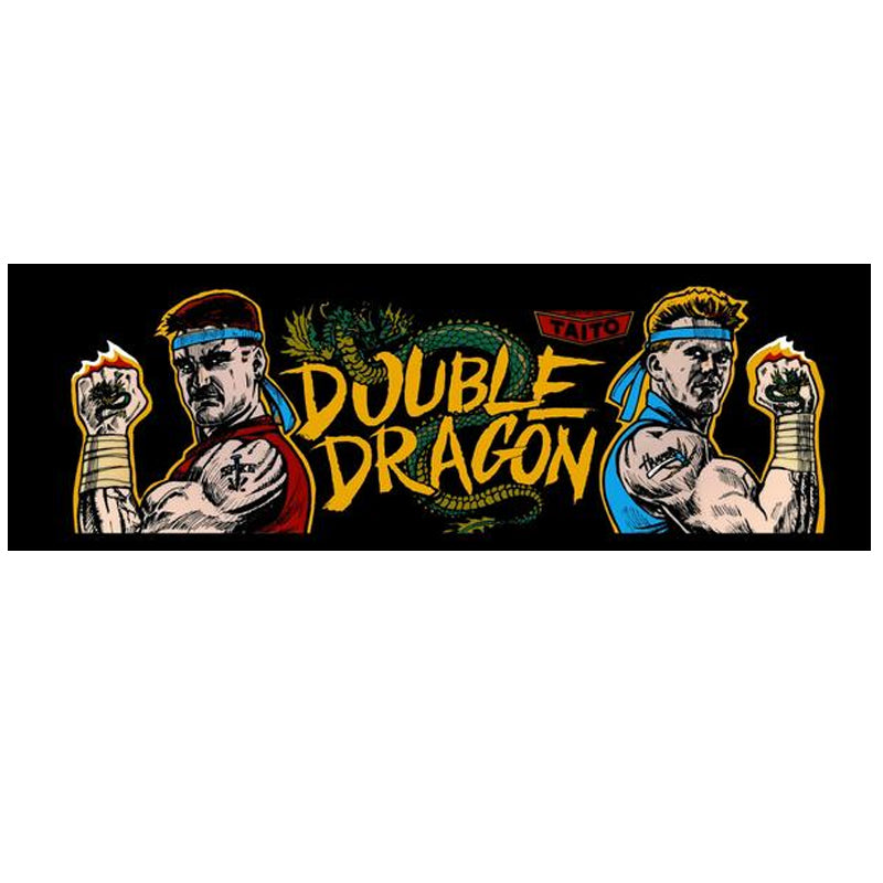 double dragon arcade marquee