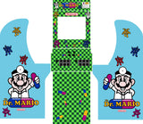 Arcade1Up - Dr.Mario Complete Art Kit
