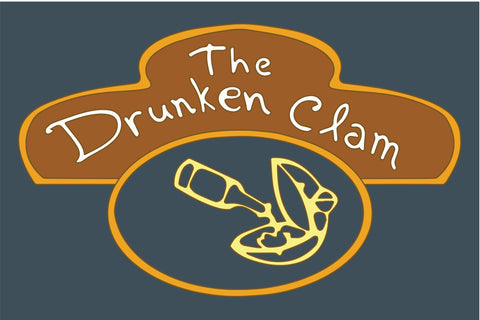 The Drunken Clam Family Guy Sign