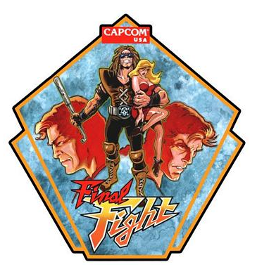 Final Fight Side Art Decals