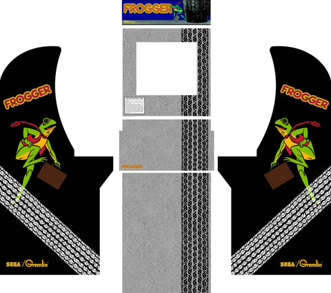 Arcade1Up - Frogger Complete Art Kit
