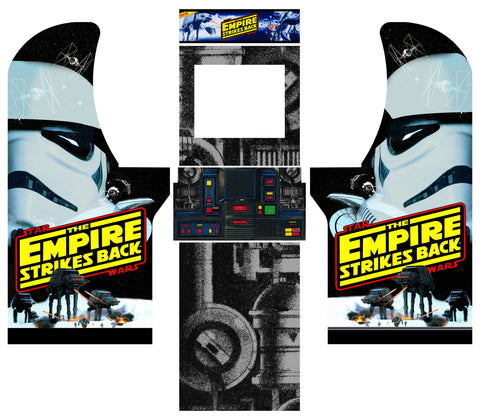 Arcade1Up -Star Wars The Empire Strikes Back Complete Art Kit