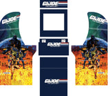 Arcade1Up - GI Joe Complete Art Kit