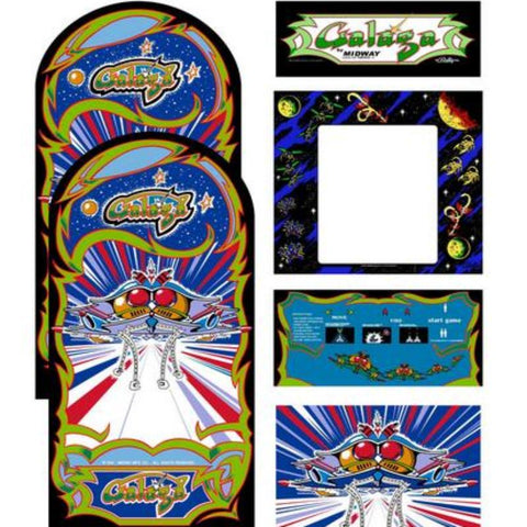 Galaga Complete Restoration Kit