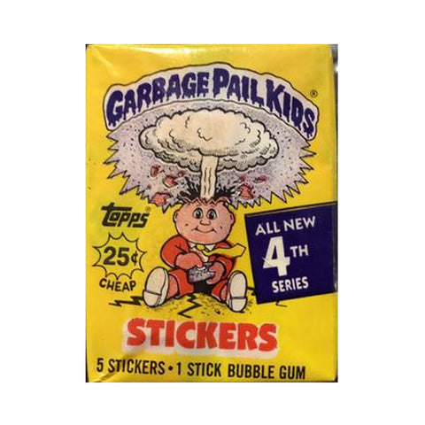 Garbage Pail Kids #4 Unopened Packs 1986